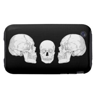 Skull Trio iPhone 3 Tough Covers
