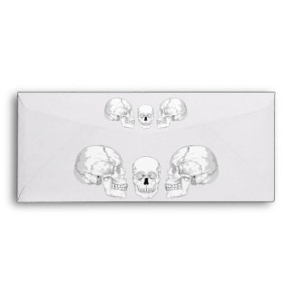 Skull Trio Envelope