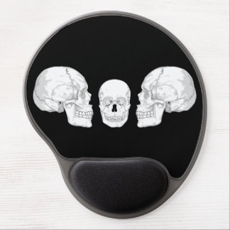 Skull Trio Gel Mouse Pads