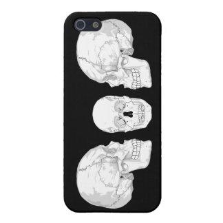Skull Trio Cases For iPhone 5