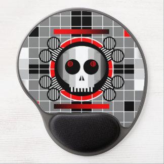 Skull TV gel mousepad