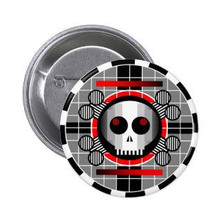 Skull TV Round button