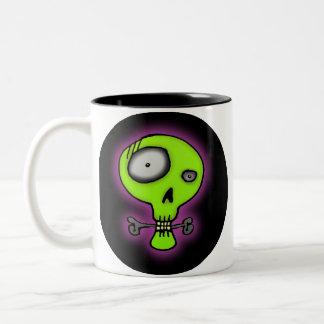 Skull Two-Tone Coffee Mug