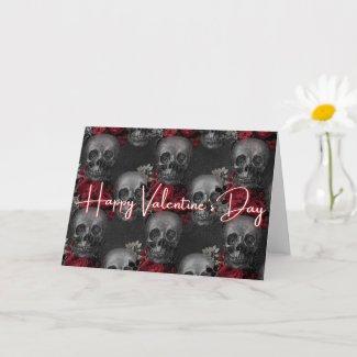Skull Valentine Card