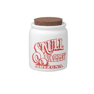 Skull Valley, Arizona Candy Jar