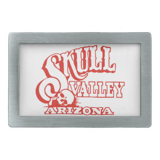 Skull Valley, Arizona Rectangular Belt Buckles