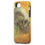 Skull, Vincent van Gogh, Vintage Impressionism Art iPhone 5 Cover