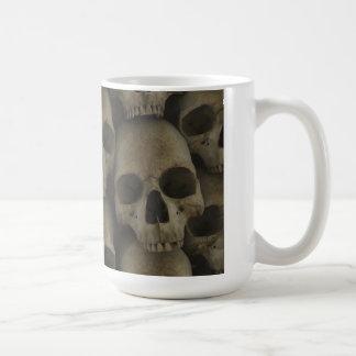 Skull Wall Classic White Coffee Mug