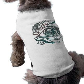 Skull Warrior 11th Birthday Gifts Dog Shirt