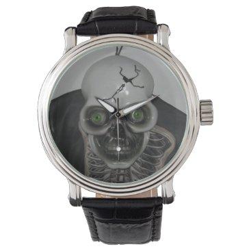 Halloween Themed Skull Watch