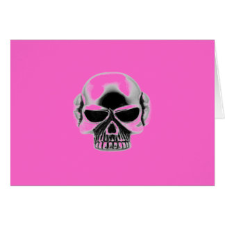 skull wear card