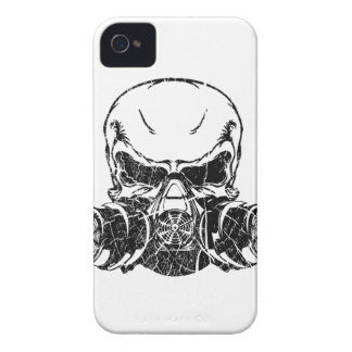 Skull Wearing Gas Mask Case-Mate iPhone 4 Case