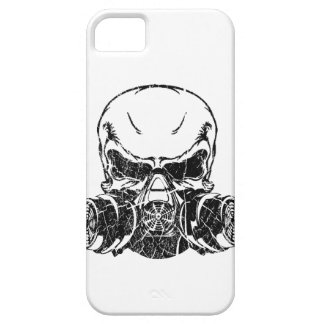 Skull Wearing Gas Mask iPhone SE/5/5s Case