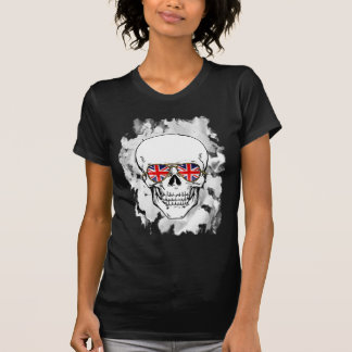 Skull wearing Union Jack Sunglasses T Shirts