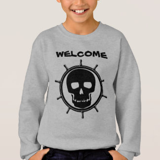 Skull Wheel Sweatshirt
