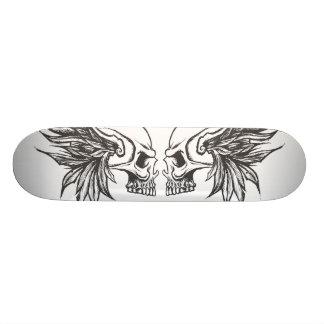 Skull&Wings1 Skate Board