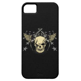 Skull Wings Guns Stars iPhone 5/5S Case