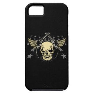Skull Wings Guns Stars iPhone 5 Cases