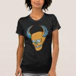 Skull ~ Wings Tattoo Skull Fantasy Art T Shirts