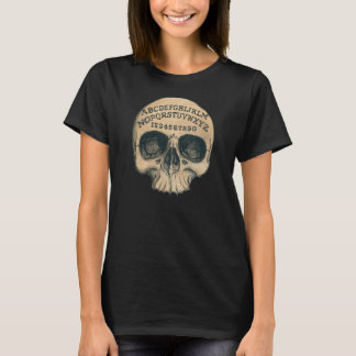 Skull witch board black T T-Shirt