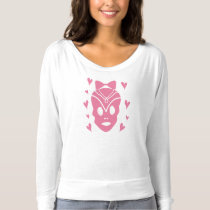 Skull with a Bow T-shirt