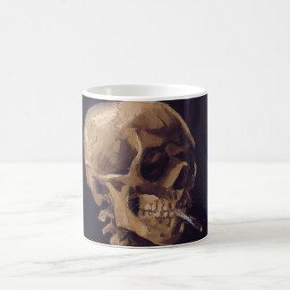 Skull with a Burning Cigarette - Vincent Van Gogh Coffee Mug