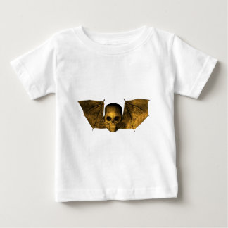 Skull With Bat Wings Baby T-Shirt