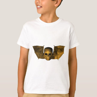 Skull With Bat Wings T-Shirt