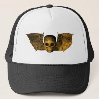 Skull With Bat Wings Trucker Hat