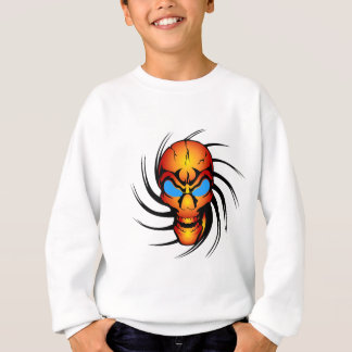 Skull With Blue Eyes Sweatshirt