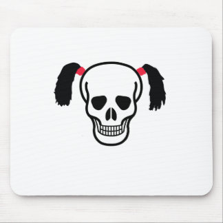 Skull With Bunches Mouse Pad