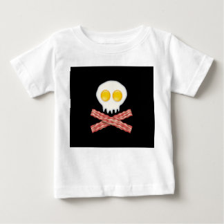 Skull With Crossed Bacon  Skull Bacon Eggs Shirt
