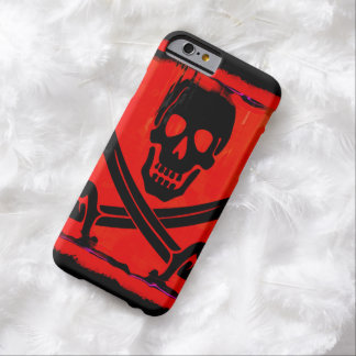 Skull with Crossed Swords Creepy Artwork Barely There iPhone 6 Case