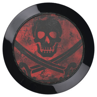 Skull with Crossed Swords USB Charging Station