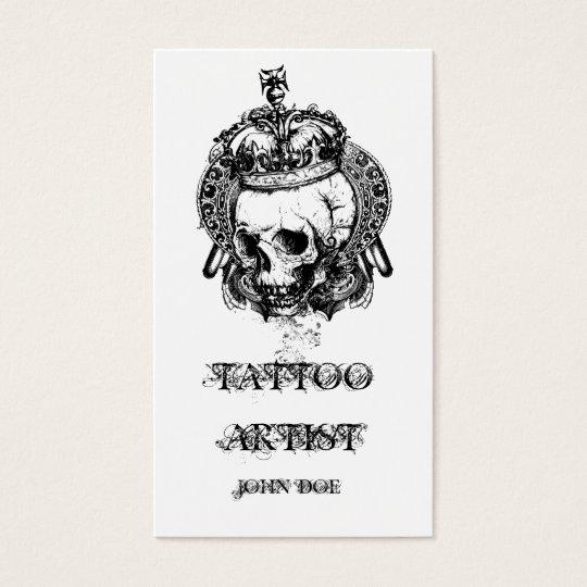 Tattoo Business Cards & Templates | Zazzle