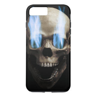 Skull with flaming eyes iPhone 8 plus/7 plus case