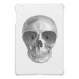 SKULL WITH FLAMING PUPILS PRINT iPad MINI CASES