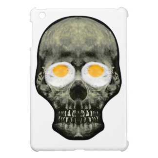 Skull with Fried Egg Eyes Case For The iPad Mini