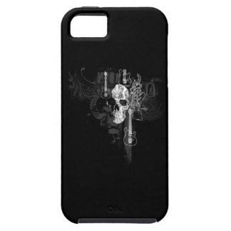 Skull With Guitars iPhone SE/5/5s Case