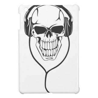 Skull with Headphones iPad Mini Cover