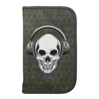 Skull with Headphones Planners