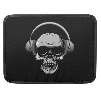 Skull with Headphones & Sunglasses MacBook Pro MacBook Pro Sleeves