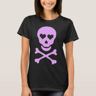 Skull with Hearts Ladies shirt