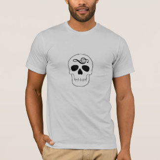 Skull with Note T-Shirt