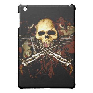 Skull with pistols iPad mini case