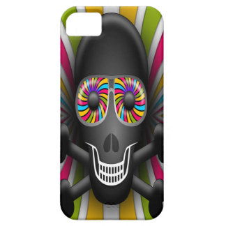Skull with psychedelic shades. iPhone 5 cover