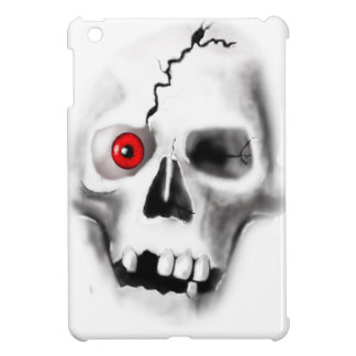skull with red eye iPad mini covers