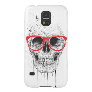 Skull with red glasses galaxy s5 case