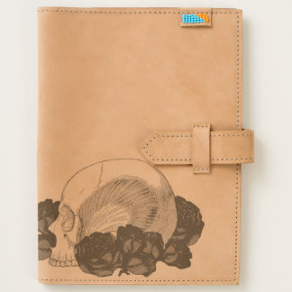 Skull With Roses Journal