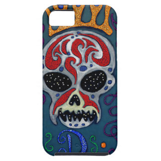 Skull with rown and Swords iPhone SE/5/5s Case